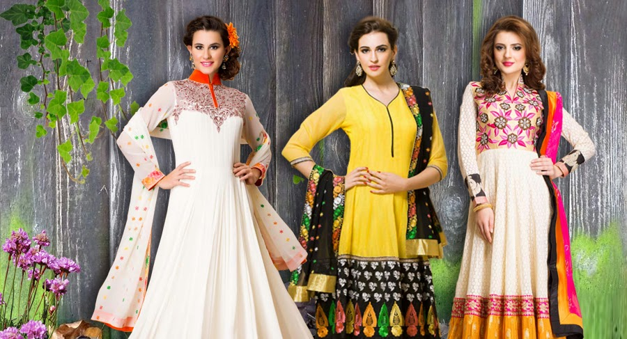Eid Special Anarkali Suits Online by Andaaz Fashion