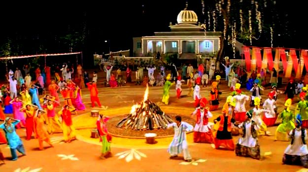 Lohri celebration in India