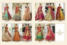 THE INDIAN SAREE STYLE LEHENGA