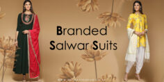 Latest Designer Branded Salwar Suits Collection