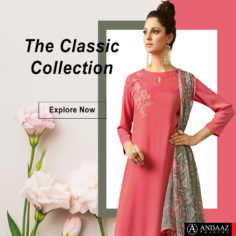 Latest Pink Indian Ethnic Dresses Designs