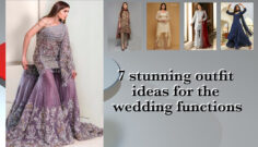 7 stunning outfit ideas for the wedding functions